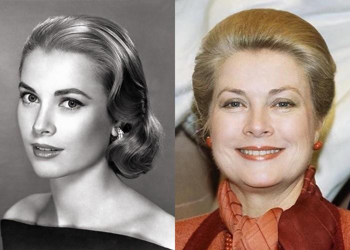 10 легендарных актрис Голливуда в молодости и старости - Грейс Келли