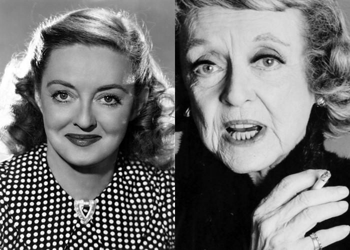 10 легендарных актрис Голливуда в молодости и старости - Бетти Дэвис