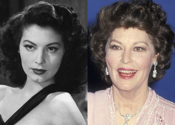 10 легендарных актрис Голливуда в молодости и старости - Ава Гарднер