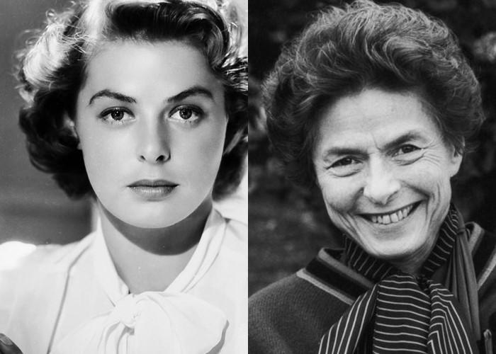 10 легендарных актрис Голливуда в молодости и старости - Ингрид Бергман
