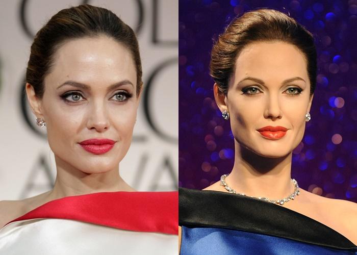 Лучшие восковые копии знаменитых актрис - Анджелина Джоли