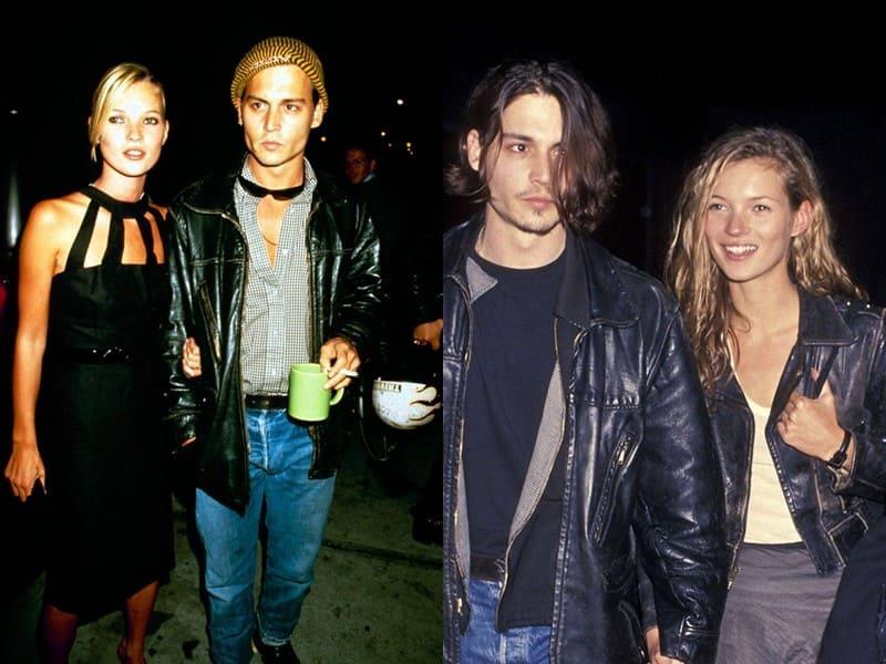 Любимые женщины Джонни Деппа - Кейт Мосс (1994-1997)